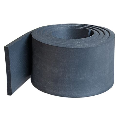 MF775 Silicone rubber strip 75mm wide x 2mm thick