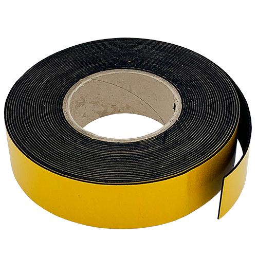 PVC Nitrile BS476 Sponge Rubber Strip Self Adhesive 25mm Thick