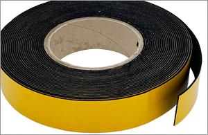 PVC Nitrile Sponge Strip BS476 Class 0 Self Adhesive