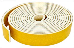 Silicone Rubber Strip Sponge Self Adhesive