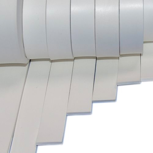 Silicone rubber strip 6mm thick