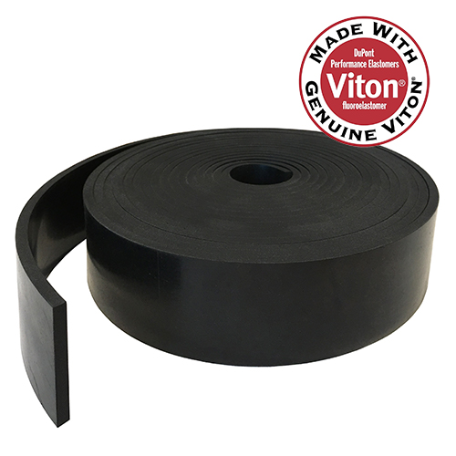 Viton Rubber Strip 1.5mm thick