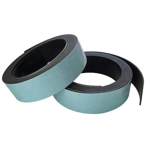 Self Adhesive Solid Rubber Strip (2 pack) 6mm thick x 20mm wide