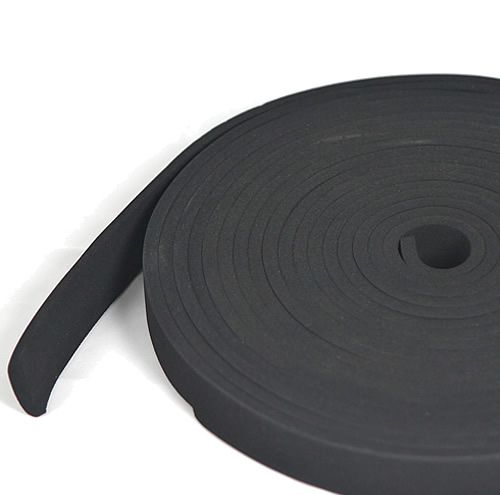 Sponge Rubber Strip 12mm wide x 6mm thick